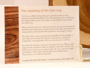 Tree ring card
