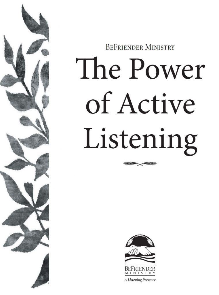 The Power of Active Listening Cover