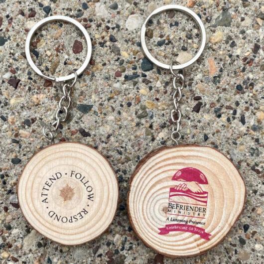 Befriender Ministry Tree Ring Key Chain